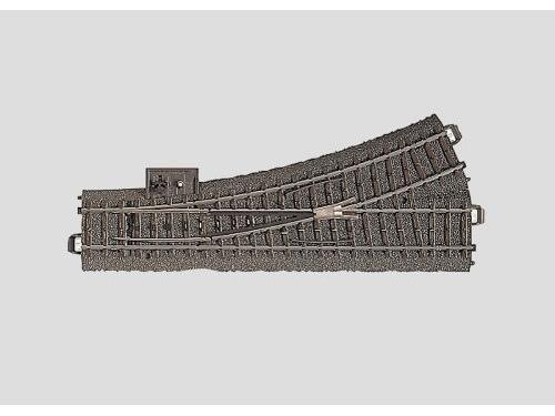 Weiche links r437,5 mm,24,3 G