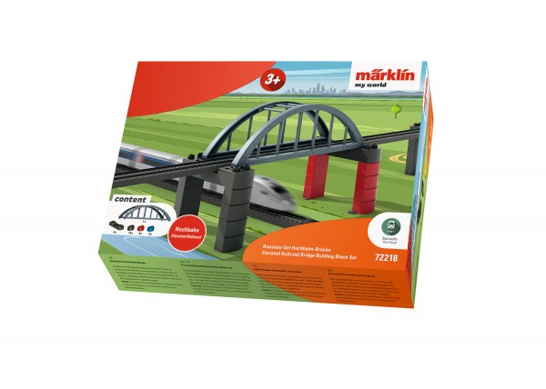 Bausteinset Hochbahn-Brücke