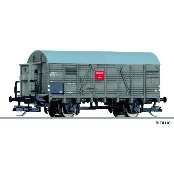 ged. Güterwagen, SBB, Ep.