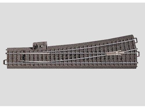 Weiche links r1114,6 mm