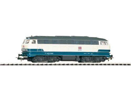 ~Diesellok BR 218 blau/beige DB AG V + lastg Dec.