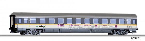 """Reisezugwagen 1./2. Klasse ABbmdz """"alex"""" der DLB GmbH, Ep. VI"""