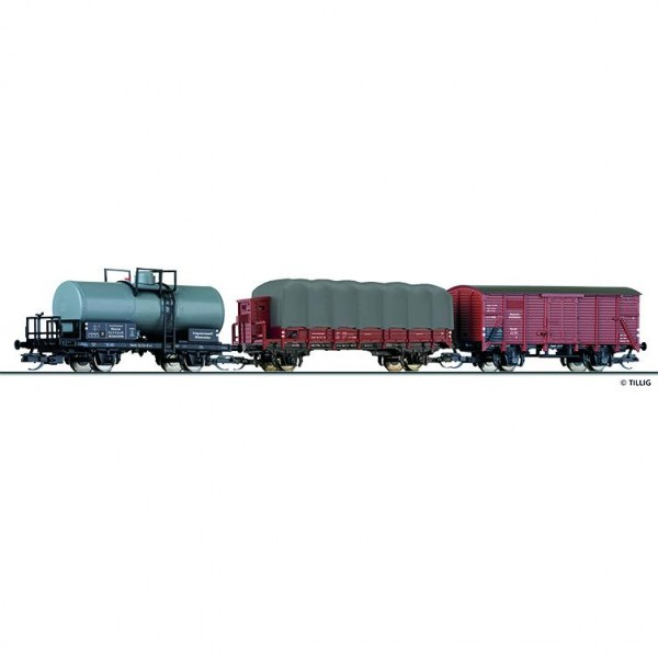 Güterwagenset, DRG, Ep.II