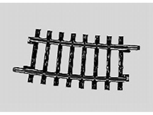 Gleis geb.r424,6 mm,7 Gr.30'