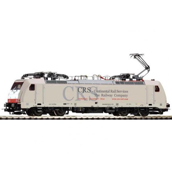 ~E-Lok BR 186 CRS VI, 4 Pantos + lastg. Dec.