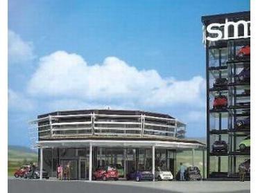 Smart Verkaufsgebäude H0
