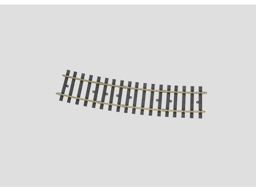 Gleis gebogen 15Grad 1394 mm(H10