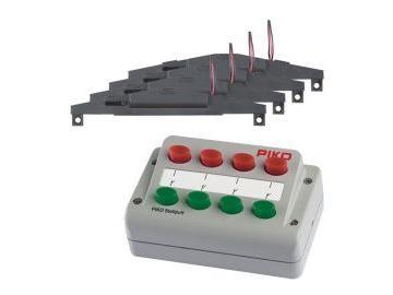 Weichen-Antriebs-Set (4x) + Stellpult