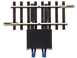 Trenngleis 41,5 mm beidseitig getrennt, mit vier getrennten Anschlüssen
