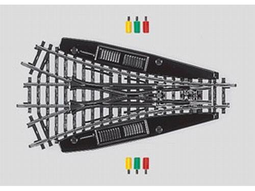 Dreiwegweiche r424,6 mm