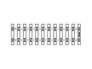 G-Schwellenband 280 mm VE25