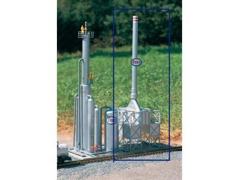 Raffinerie Fackel-Anlage
