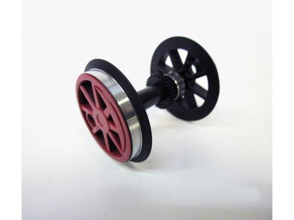G-Radsatz (KL) rot + Zahnrad fuer BR 80