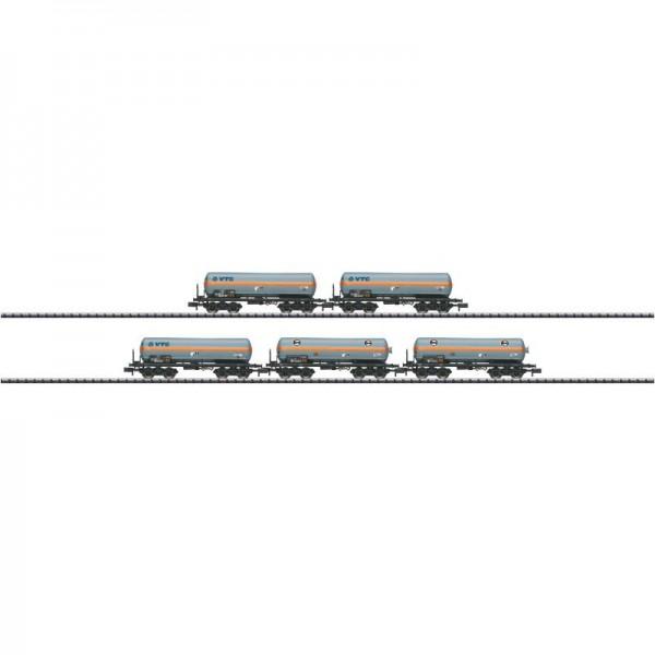 Druckgas-Kesselwagen-Set