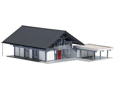 Wohnhaus, modern H0