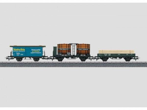 Güterwagen-Set K.W.St.E.