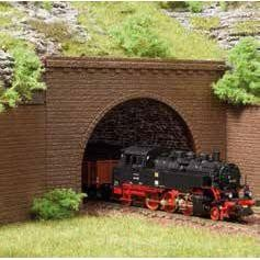 Tunnelportale zweigleisig