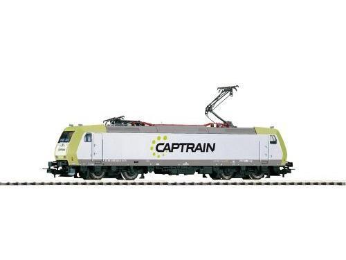 ~E-Lok BR 185 Captrain VI + lastg. Dec.