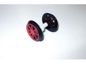 G-Speichen Radsatz mit Zahnrad BR80