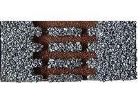 Gleisbettung Modellgleis hell (grau) für gebogenes Gleis R11-R14, 30