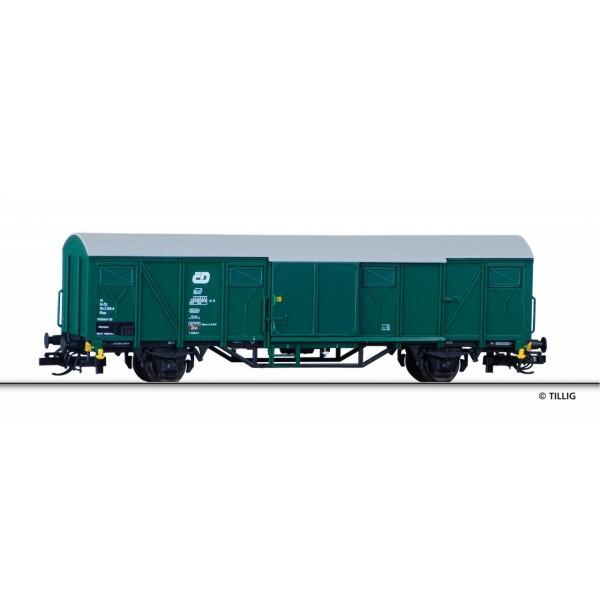 Gedeckter Güterwagen Gbqs der CD, Ep. V