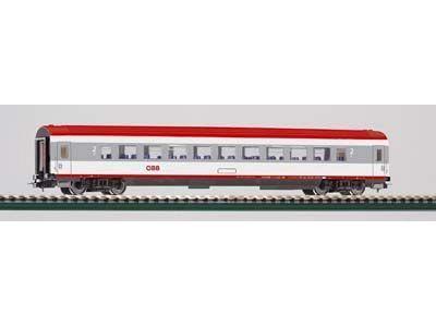 Perswg. 2.Kl. IC Großraum oeBB V, grau-rot