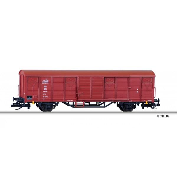Gedeckter Güterwagen Gbs-x der PKP, Ep. IV
