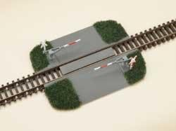 Bahnübergang - Halbschrank