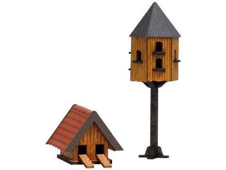 Tauben- und Entenhaus H0