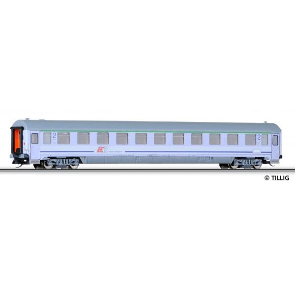 Reisezugwagen 2. Klasse Bdnmu der PKP, in InterCity-Lackierung, Ep. VI