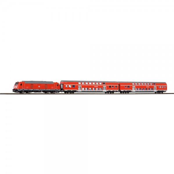PIKO SmartControl Premium Train Set BR 245 Nahverkehrszug + Loksound
