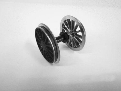 G-Radsatz (KL) schwarz + Haftreifen fuer BR 194