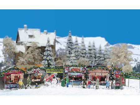 Weihnachtsmarkt H0