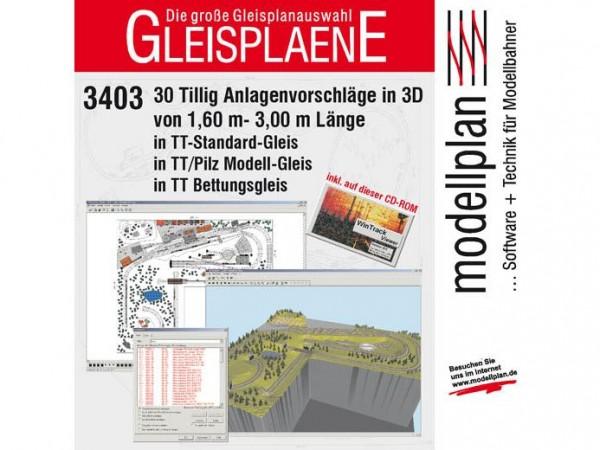 TT-Gleispläne I (CD-ROM)