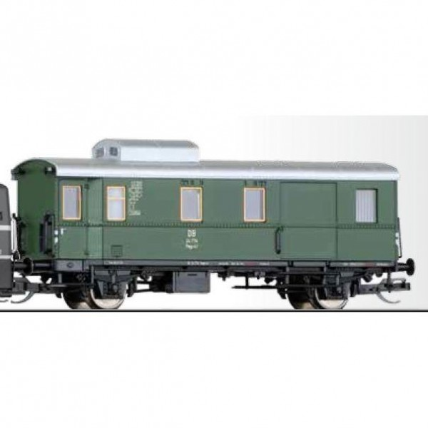 Güterzuggepäckwagen Pwgs-41 der DB, Ep. III