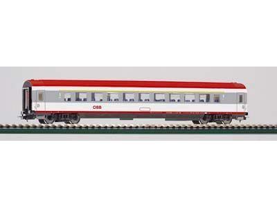 Perswg. 1.Kl. IC Großraum oeBB V, grau-rot