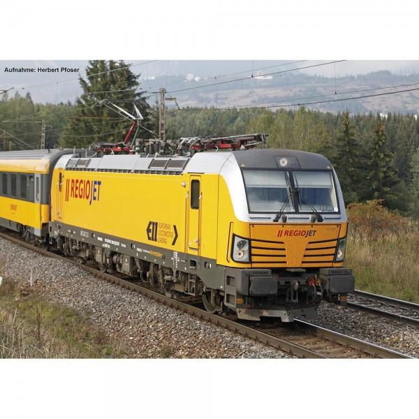 ~E-Lok Vectron 193 RegioJet CZ VI, vier Pantos + lastg.Dec.