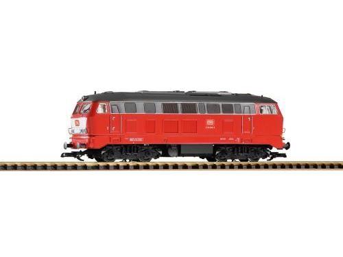 G-Diesellok BR218 orientrot + Latz DB IV