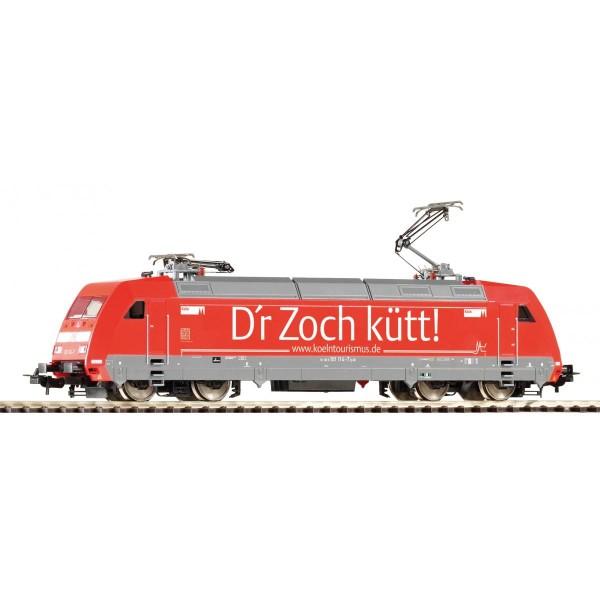 ~E-Lok BR 101 Köln DB AG VI + lastg. Dec.