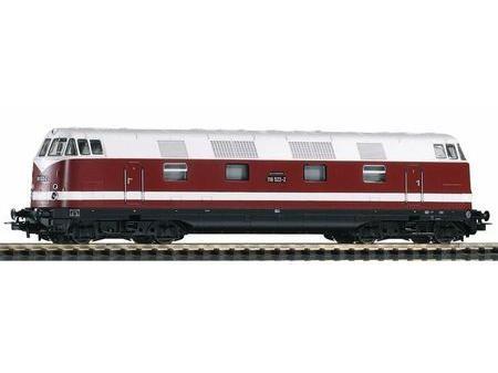 ~Diesellok BR 118 DR IV + lastg.Dec.