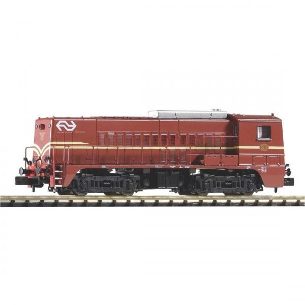 N-Diesellok NS 2218 NS braun IV, A-Licht