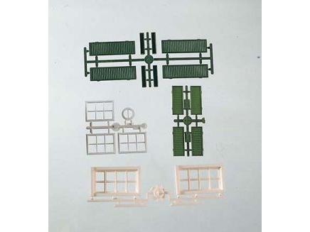 G-Bauteile: Fenster + -laeden