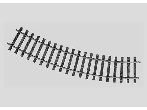Gleis geb. r 760,8 mm, 30 Gr.